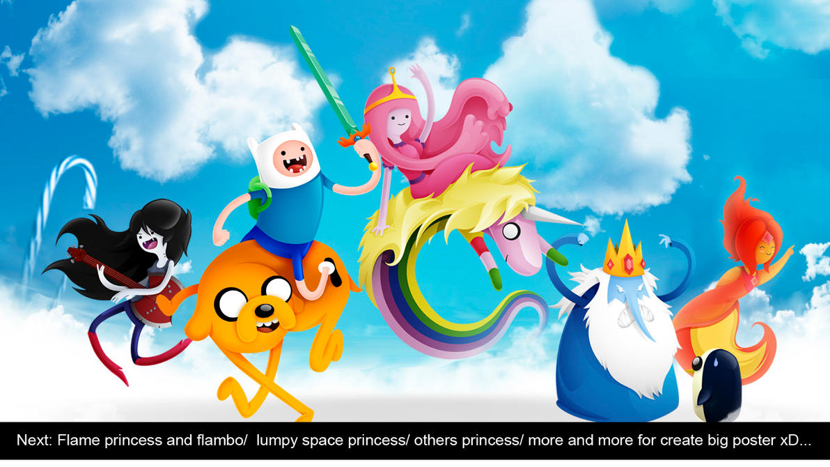 Mega poster Adventure time incoming... by Adnilustra
