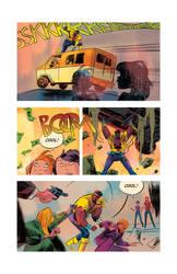 Strange Tales- Power Man page. by TCypress
