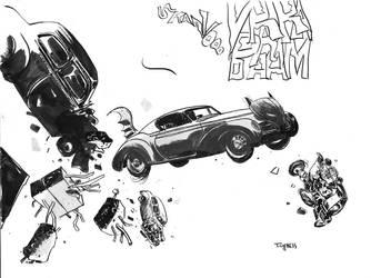 Batmobile by TCypress