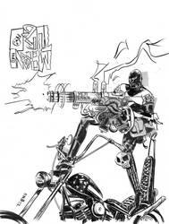 Mekano Turbo-  eBay auction fan art. by TCypress