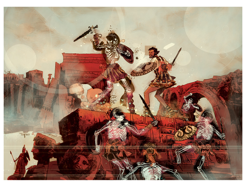 Jason And The Argonauts by TCypress