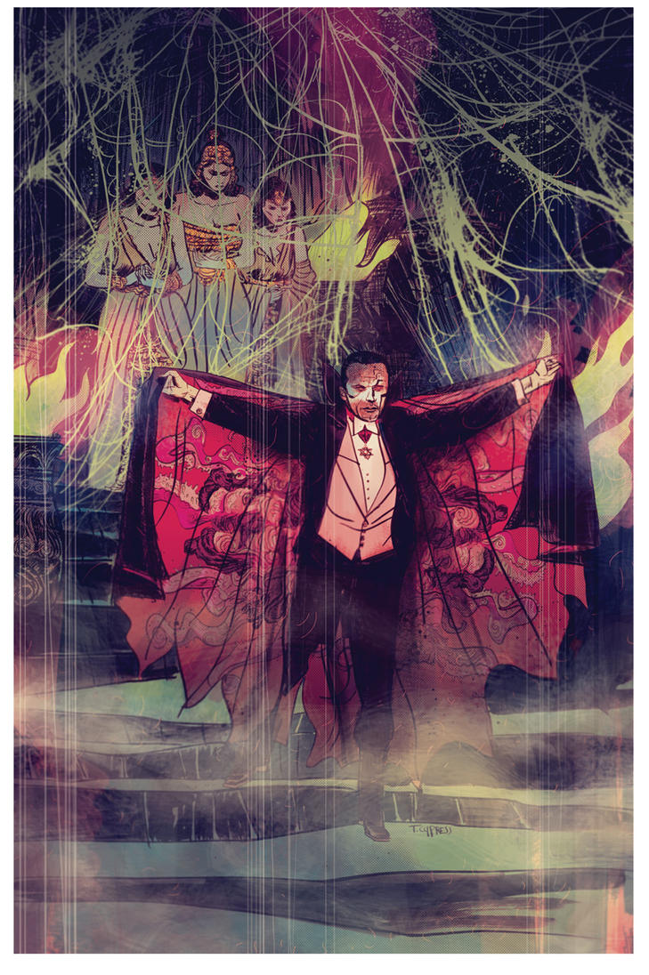 Dracula PRINT by TCypress