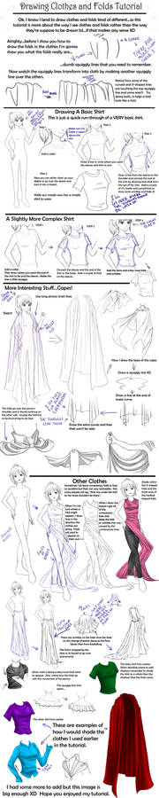 Drawing Clothes And Folds