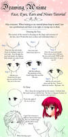Drawing Anime Faces Tutorial by Crysa