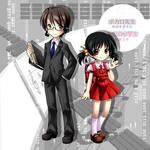 Kiyoteru Hiyama and Yuki Kaai