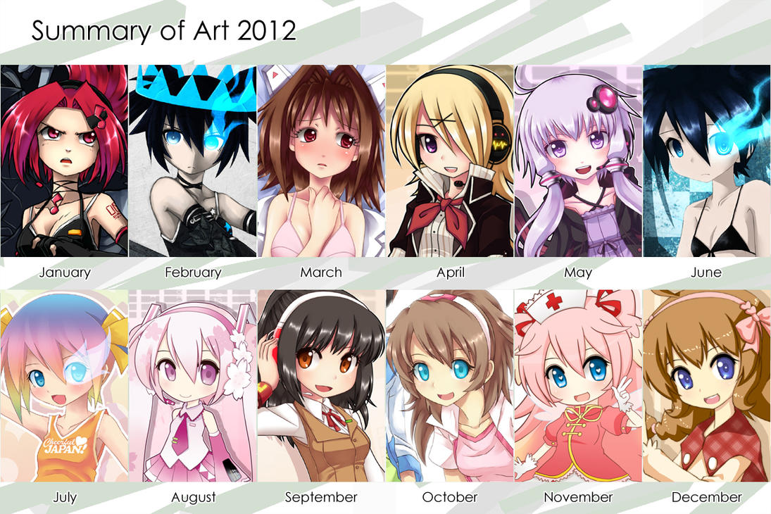 Summary Of Art 2012 by qrullgx13