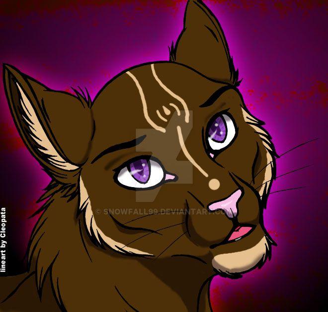 Evil Kitty by Snowfall99