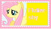 Fluttershy Stamp by KittyJewelpet78