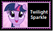 Twilight Sparkle Stamp by SoraJayhawk77