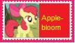 Applebloom Stamp by KittyJewelpet78