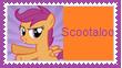 Scootaloo Stamp by KittyJewelpet78