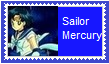 Sailor Mercury Stamp by SoraRoyals77