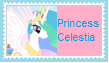 Princess Celestia Stamp by KittyJewelpet78