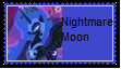 Nightmare Moon Stamp by SoraRoyals77