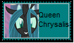 Queen Chrysalis Stamp by KittyJewelpet78