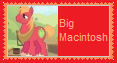 Big Macintosh Stamp by KittyJewelpet78