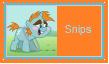 Snips Stamp by SoraJayhawk77