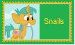 Snails Stamp by SoraJayhawk77