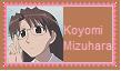 Koyomi Mizuhara Stamp by SoraRoyals77