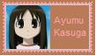Ayumu Kasuga Stamp by SoraJayhawk77