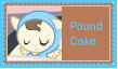 Pound Cake Stamp by SoraJayhawk77