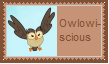 Owlowiscious Stamp by SoraRoyals77