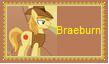 Braeburn Stamp by SoraRoyals77