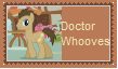 Doctor Whooves Stamp by SoraJayhawk77