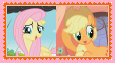 AppleShy Stamp by KittyJewelpet78