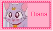 Diana Stamp by KittyJewelpet78