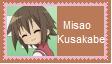 Misao Kusakabe Stamp by SoraJayhawk77