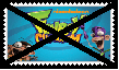 Anti Fanboy and Chum Chum Stamp by SoraRoyals77
