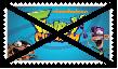 Anti Fanboy and Chum Chum Stamp