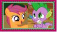 ScootaSpike Stamp by KittyJewelpet78