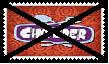 Anti Chowder Stamp by SoraJayhawk77