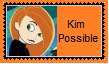 Kim Possible Stamp by KittyJewelpet78
