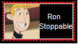 Ron Stoppable Stamp by SoraRoyals77