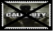 Anti Call of Duty Stamp by SoraJayhawk77