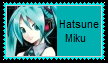 Hatsune Miku Stamp by SoraRoyals77