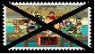 Anti Total Drama Island Stamp