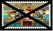 Anti Total Drama Island Stamp by SoraJayhawk77