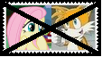 Anti FluttershyXTails Stamp by SoraRoyals77