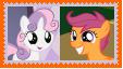 ScootaBelle Stamp by SoraRoyals77