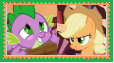 AppleSpike Stamp by SoraJayhawk77