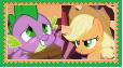 AppleSpike Stamp by KittyJewelpet78