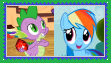 RainbowSpike Stramp by KittyJewelpet78
