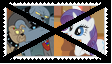 Anti Diamond DogsXRarity Stamp by KittyJewelpet78