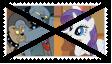 Anti Diamond DogsXRarity Stamp by KittyJewelpet78