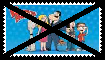 Anti American Dad Stamp by KittyJewelpet78