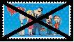 Anti American Dad Stamp by KittyJewelpet78